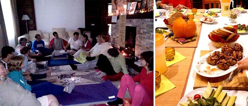 Meditációs gyakorlatok és tiszta étkezés a Bakonybéli elvonuláson