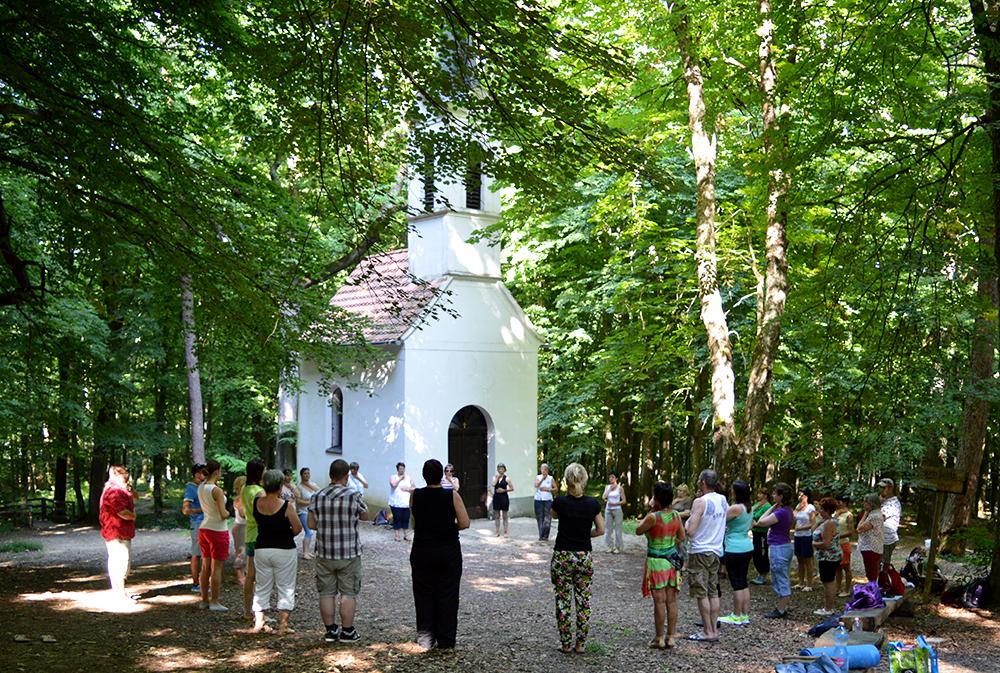 Kirándulás a Szent Vid kápolnához Kálazi Ágival